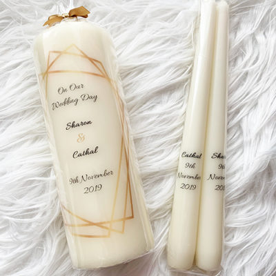 Unity Wedding Candles Clare