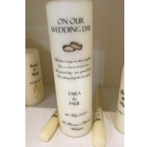Personalised Candles Clare